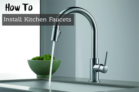 how to install a new kitchen faucet factors