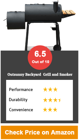 Outsunny-Backyard Charcoal BBQ Grill