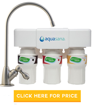 Aquasana 3-Stage Under Sink Water Filter System