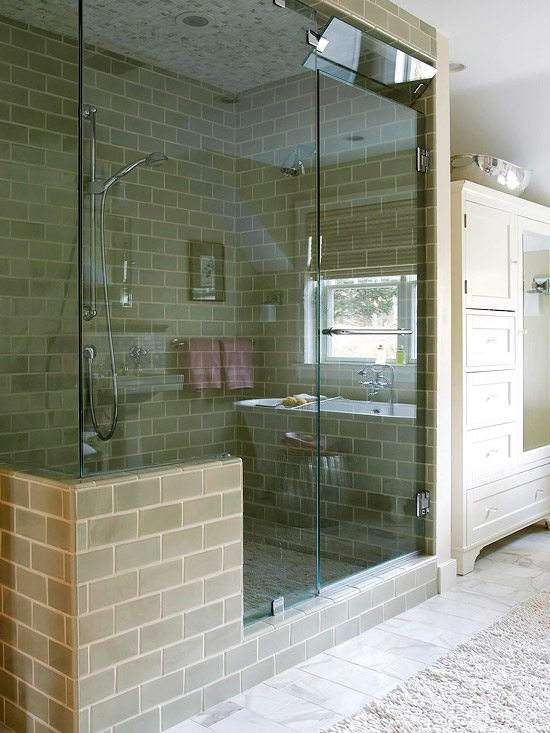 Shower And Steam Room Combo