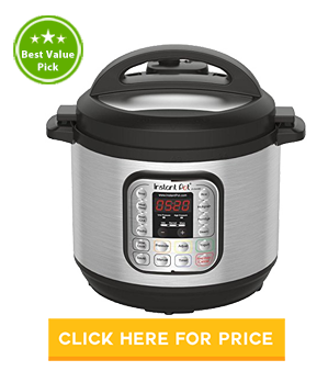 Instant Pot DUO80 8 Qt 7-in-1 Multi-Use Rice Cooker