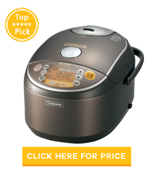 Zojirushi NVC18 Induction Heating Pressure Rice Cooker