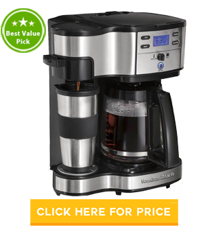 Hamilton Beach 49980A Drip Coffee Maker
