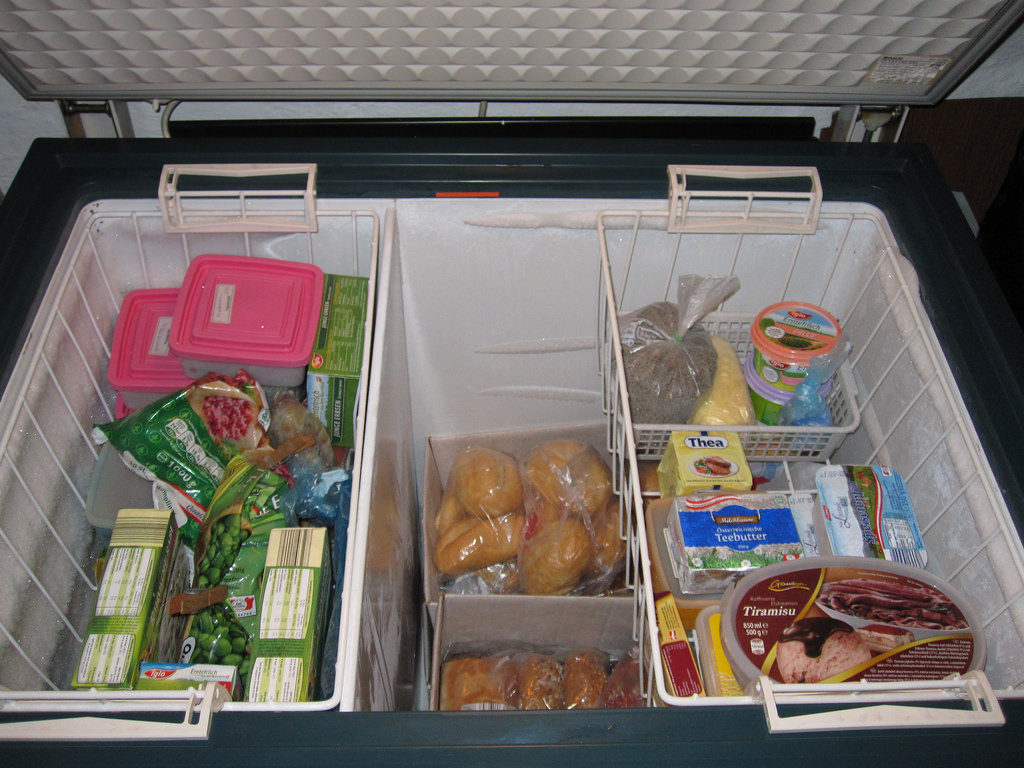 Chest Freezer storage basket