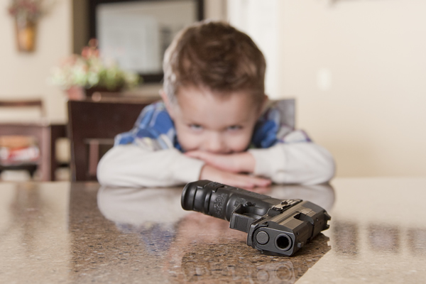 Child with gun access