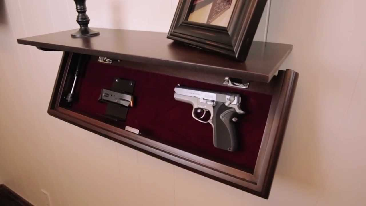 Cabinet Gun Safe Idea for your Home
