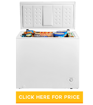 Midea WHS-258C1 Single Door Chest Freezer