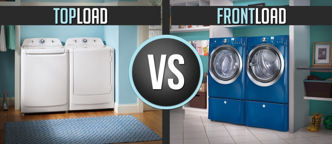 Top Load Vs Front Load Washer Which Is The Best Washer Type