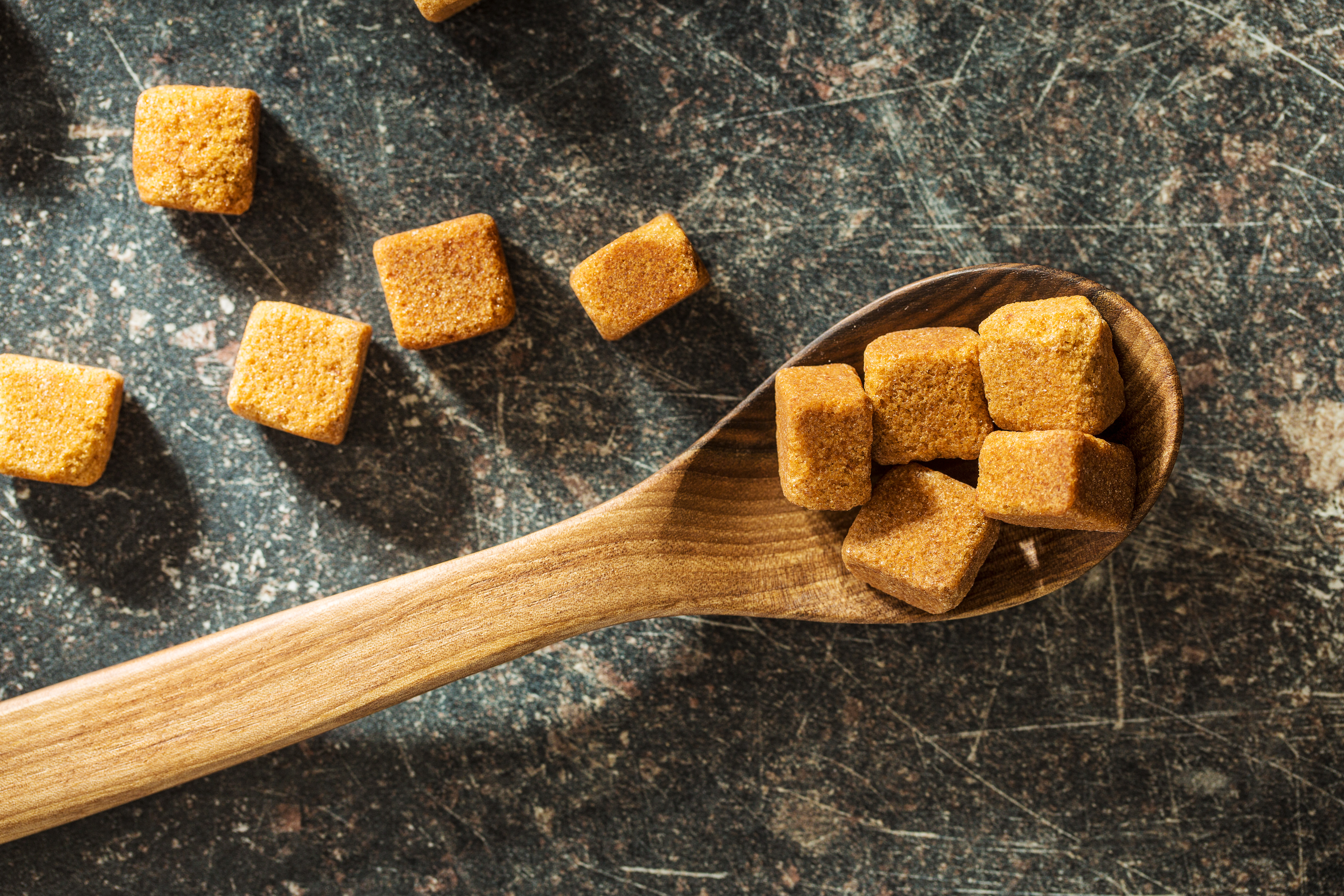 Hard Brown Sugar Cubes