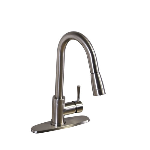 Pull-Down Kitchen Faucet Image